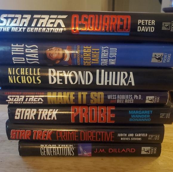 7 Star Trek Books